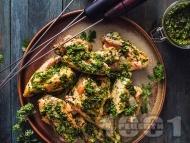 Рецепта Пиле чимичури